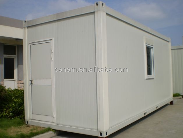 Prefab container house flat pack modified house with small window