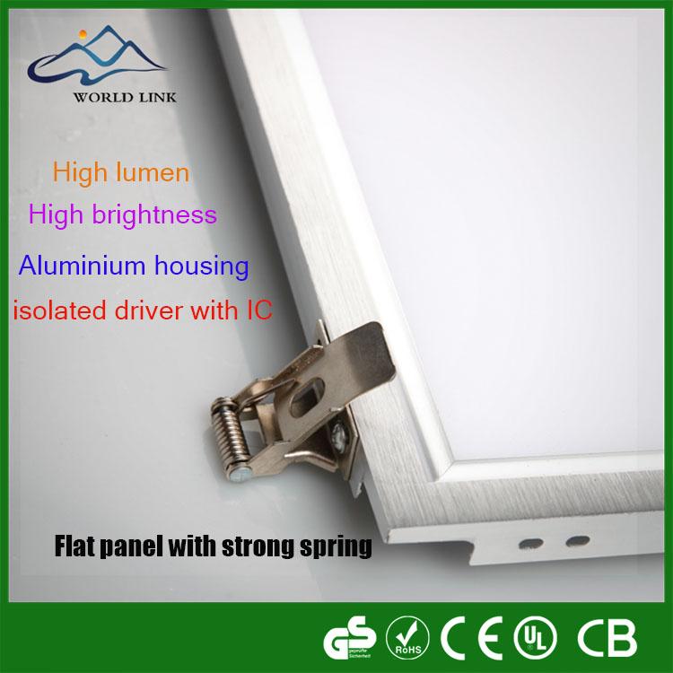 Newest Arrival Brand Smd 85-265v Led Grille Panel Light Housing ...