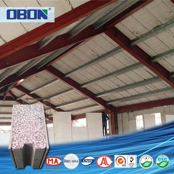 OBON light weight structural insulated concrete roof panels