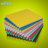 leaf texture thick interlocking EVA foam mat floor pad