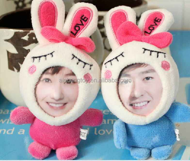 Diy 3d Face Frame Toyrealistic Human Face With Plush Toy Buy 3d