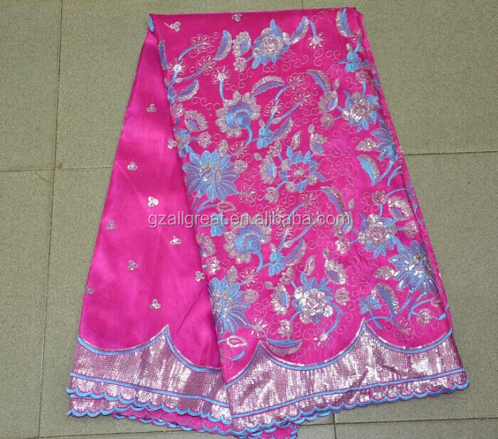 India George Wrappers/beaded Raw Silk George