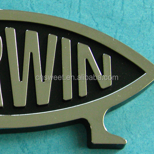 Customized Abs Chrome Plated 3d Car Emblem With Shiny Logo Letters Plastic  Casting Car Sticker - Buy Car Emblem,Car Sticker,Car Chrome Badge Emblem