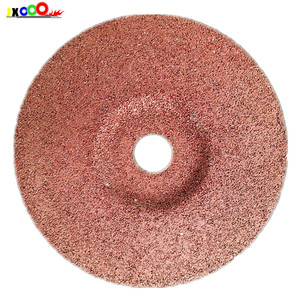 Resin bonded abrasive soft grinding wheel for mild steel