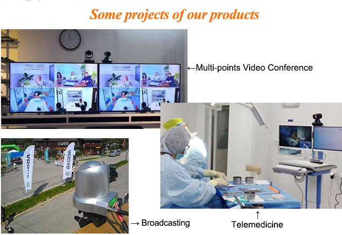 KATO 10x webcam hd-sdi yayın konferans uzaktan kumanda ile ptz video kamera