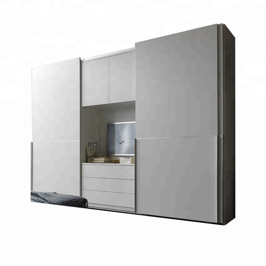 Merveilleux Modern Design Bedroom Wooden Almirah Designs White Wardrobe Closet With  Sliding Door   Buy Closet And Wardrobe,Wooden Almirah Design Wardrobe With  ...