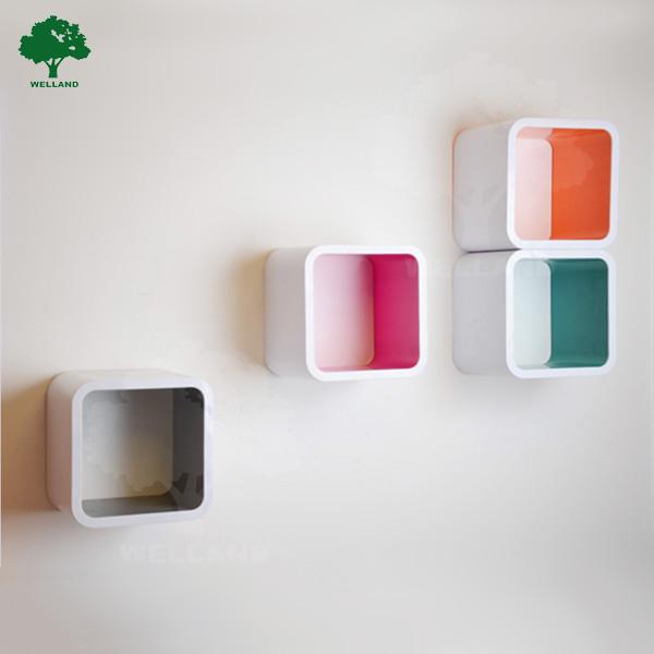 Plastic cube diy cube storage shelf wall decor j buy wall hanging cubes plastic wall cubes - Cube wall decor ...