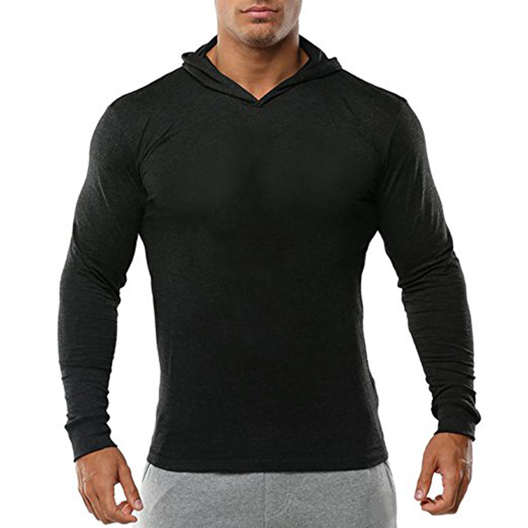 Best quality pullover hoodie men plain blank tall hoodies wholesale latest sweater designs for men with anti-shrink