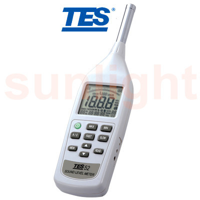 TES-52AA Class 2 Sound Level Meter with Datalogger