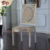 Wood dining room chair home furniture luxury europe royal dining chair