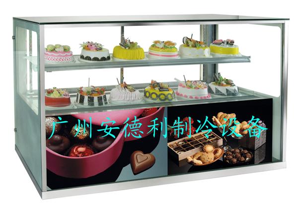 Kühlschrank Quadratisch : 800 watt 2 ~ 10 quadratische glas kuchen schokolade display