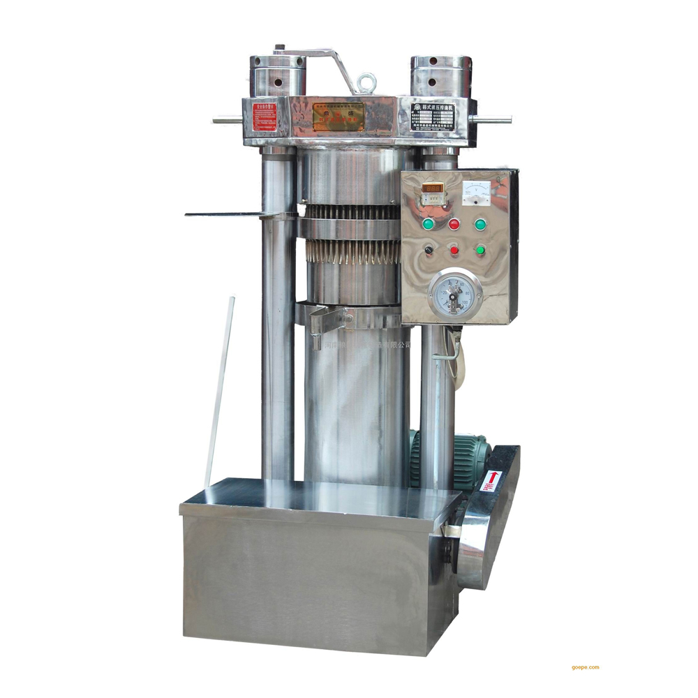 20-150kg/h Hot Sale Hydraulic cold/hot pressing hemp seed /castor /sesame oil press machine
