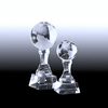 Crystal Globe blank Trophy Awards Souvenir Gifts as trophy tennis cup