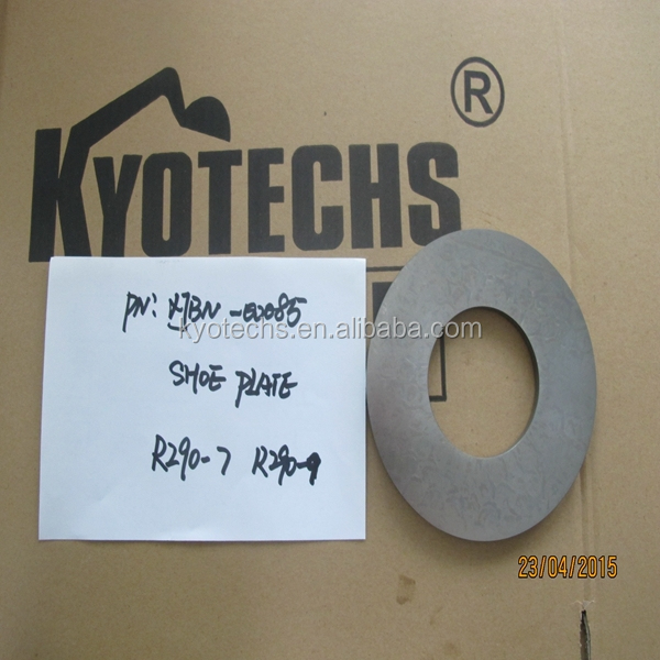 HYDRAULIC PUMP PARTS SHOE PLATE FOR XJBN-00085 R290-7 R290-9