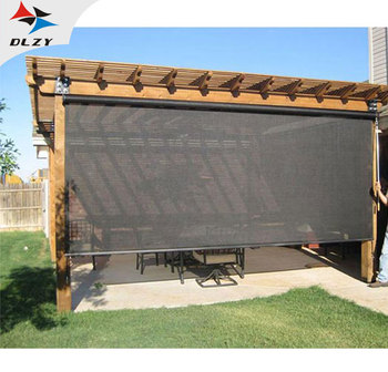 Top quality Low price HDPE privacy outdoor roller blinds