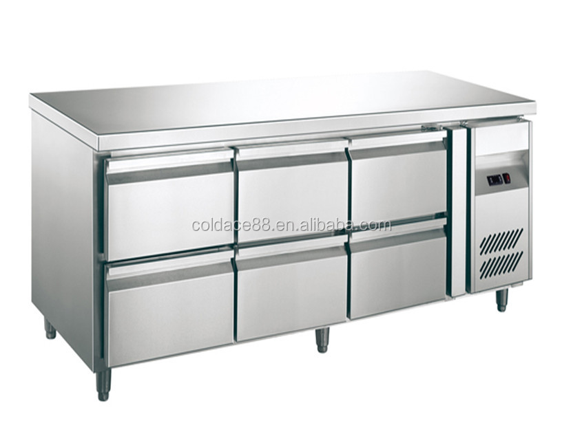 Commercial 9 drawer Countertop Refrigerator/Chiller Cooler/Under Counter Refrigerator Chiller