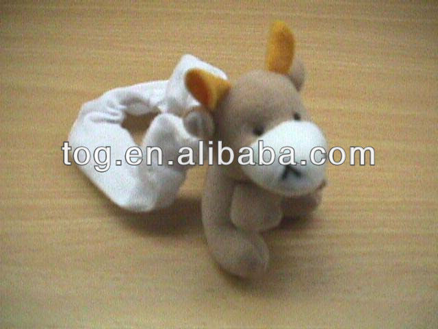 Factory wear jeans lovely plush sitting teddy bear toy stuffing soft baby bear toy