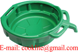 10L Oil Drain Pan Green