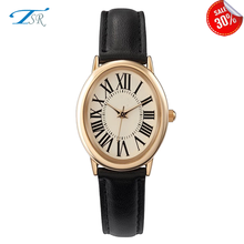 Factory Wholesale Retro Watch/oval Alloy Watch Vintage leather bracelet Watch