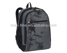 Three Compartment Bamboo Backpack