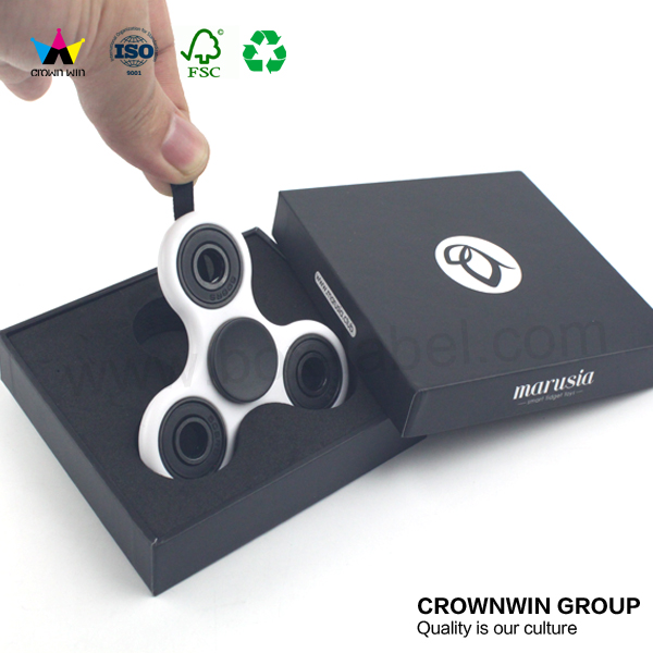 Wholesale Fidget Led Hand Spinner Toy Packaging Paper Box