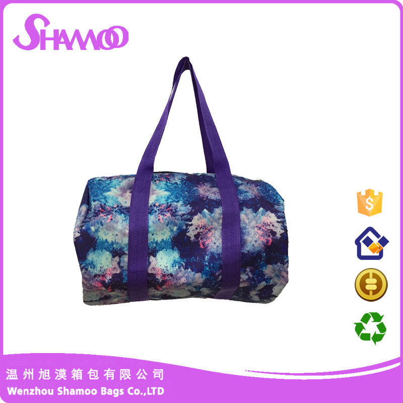 Promotional duffel travel small bag for short-distance travelling
