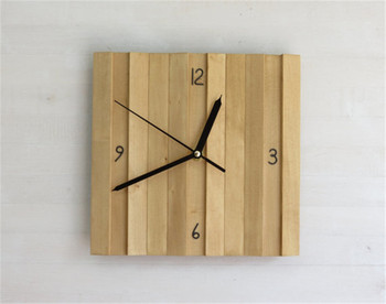 Kitchen Square Wood Frame Wall Clock - Buy Wood Frame Wall Clock,Square  Wood Frame Wall Clock,Kitchen Wall Clock Product on Alibaba.com
