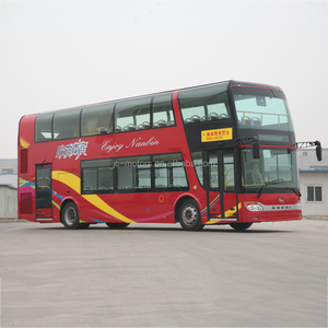 Factory supply closed top luxury double decker bus for sale