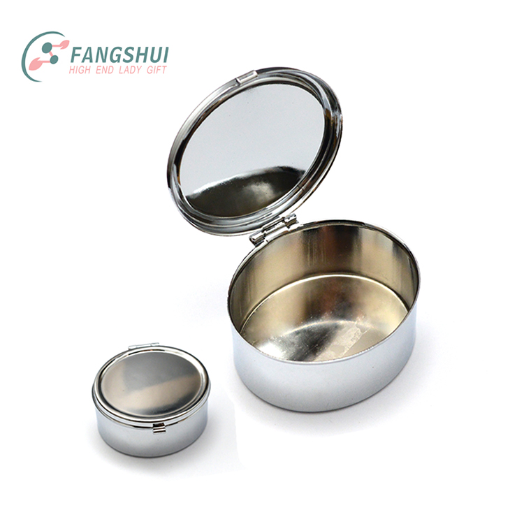 Hot sell water proof bucket shape one day metal pill case medicine box