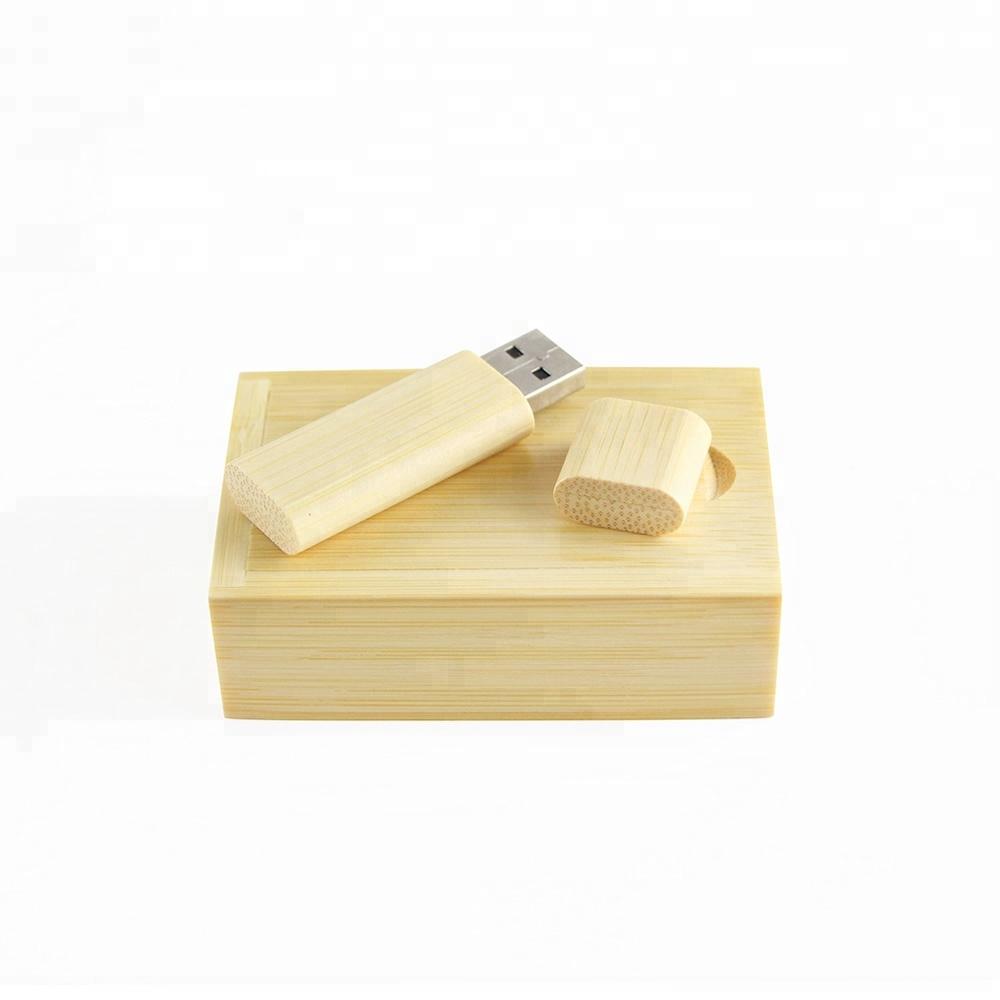 Factory Provide Free Sample  Custom Logo Engraved Wooden USB 64 GB 2tb Flash Drive