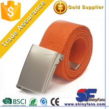 hot sale fashion good quality stock stretch belt with alloy buckle