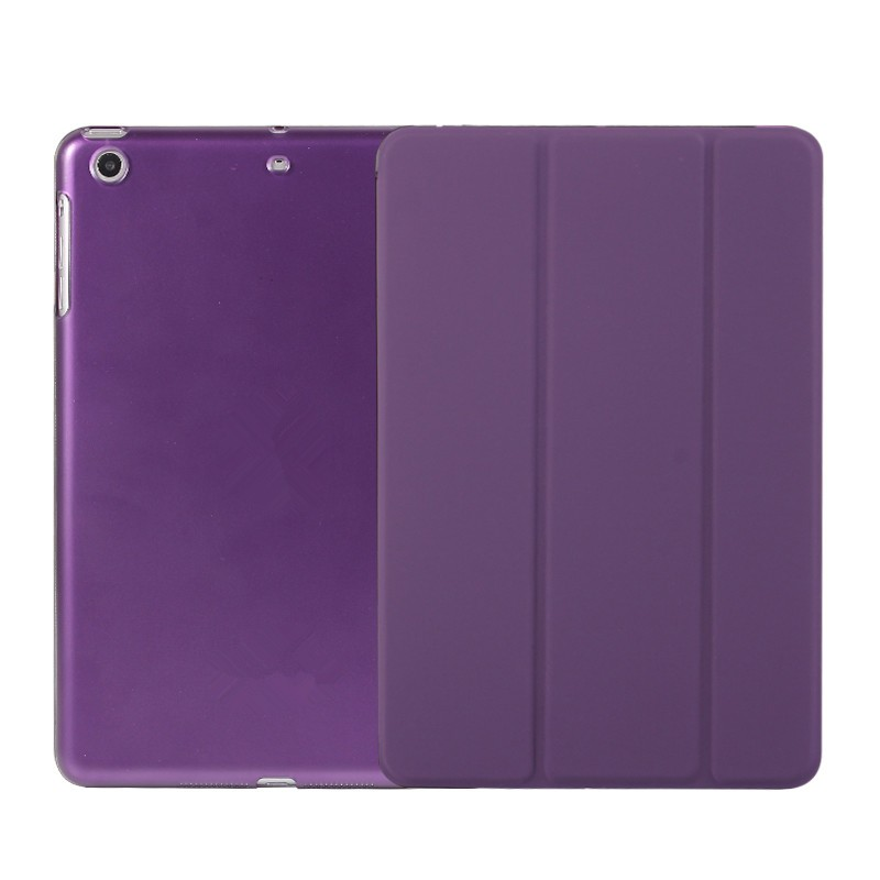 Factory Direct Sale 4 Folders Stand PU Leather Case Ultrathin Smart Case For iPad 2 3 4