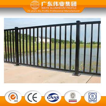 Powder coated veranda aluminum railing price