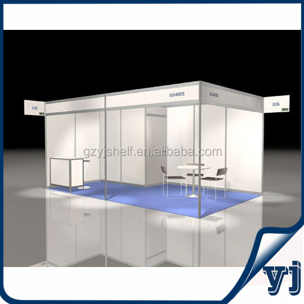 Exhibition Shell Scheme Suppliers : Aluminum exhibition booth design china standard