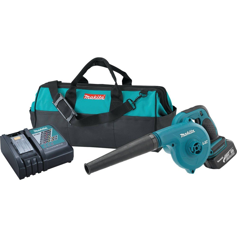 Makita DUB182 18V LXT Lithium-Ion Cordless Blower Kit (3.0Ah)