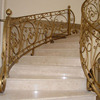Standard Grab HAND RAILING Floor MOUNT staircase RAILS stairs fence balustrade