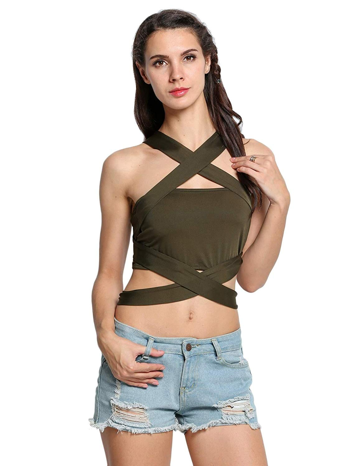 6316a9ca183 Get Quotations · dongba Cotton Camisole Tops for Women Empire Waist Tops  for Women Tanks   Camis