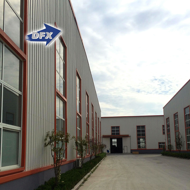 China large span prefabricated steel structure warehouse workshop construction products factory supplier