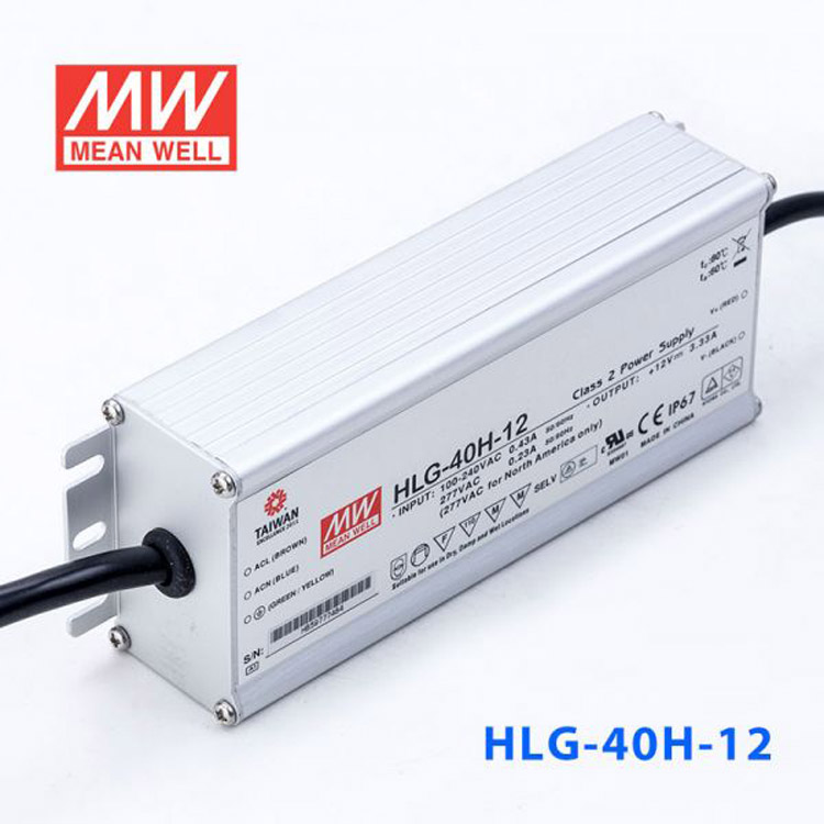 Mean Well HLP-40H-24 AC to DC Power Supply