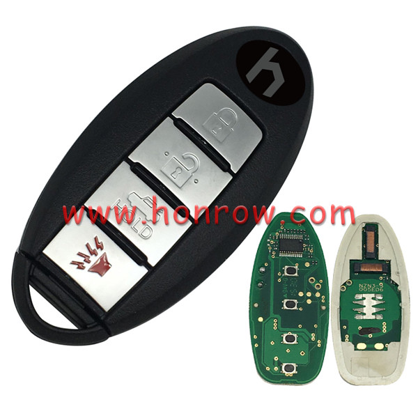 For 3+1 button remote key with 315mhz with 46chip -PCF7952