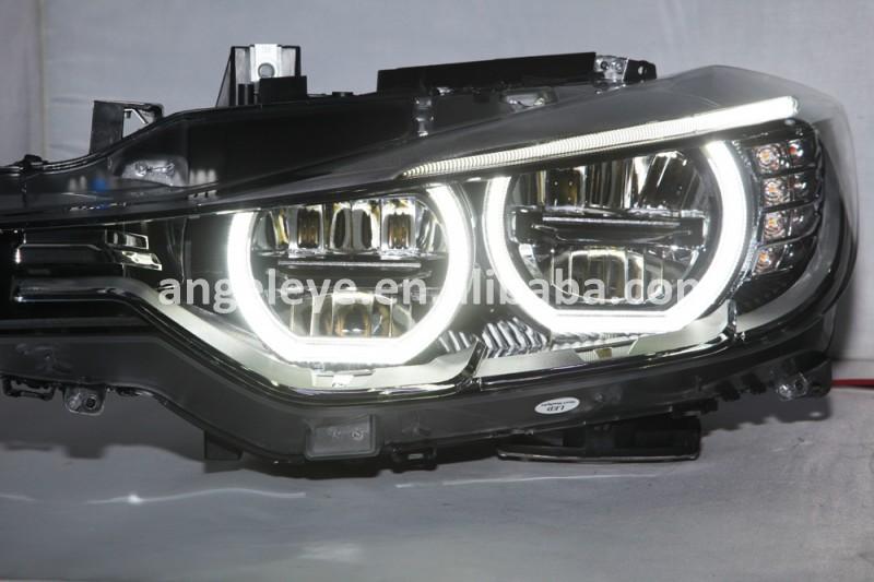 For Bmw F30 F35 318 320 325 328 330 335 Head Lamp Angel Eyes