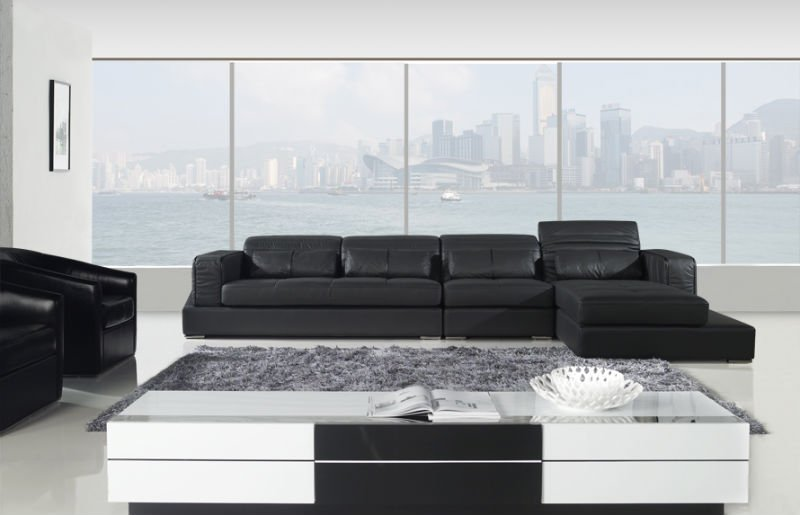 Germany Living Room Leather Sofa Luxury Top Grain Genuine German Sofas