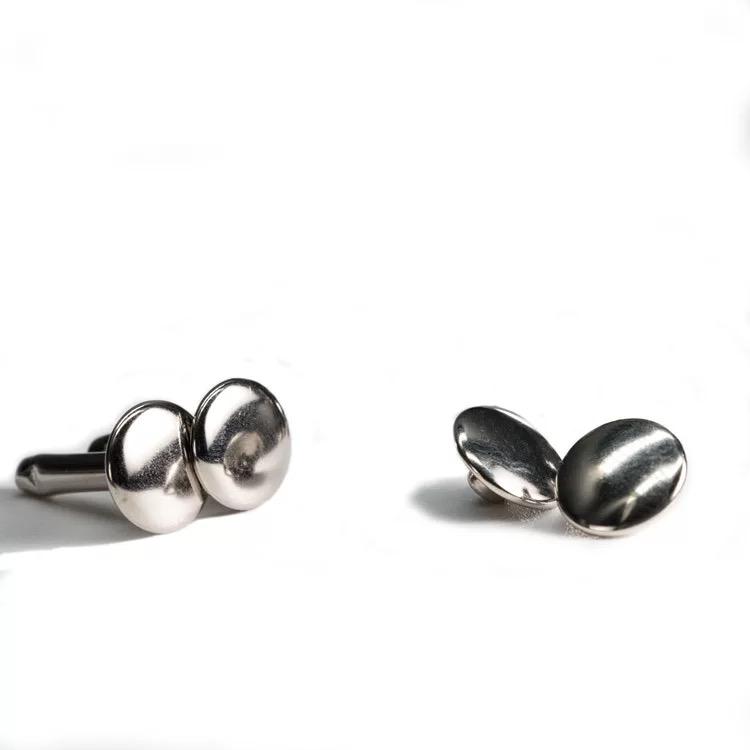 YK 1188 de Metal de alta calidad tapa doble remache botón para las bolsas de cuero