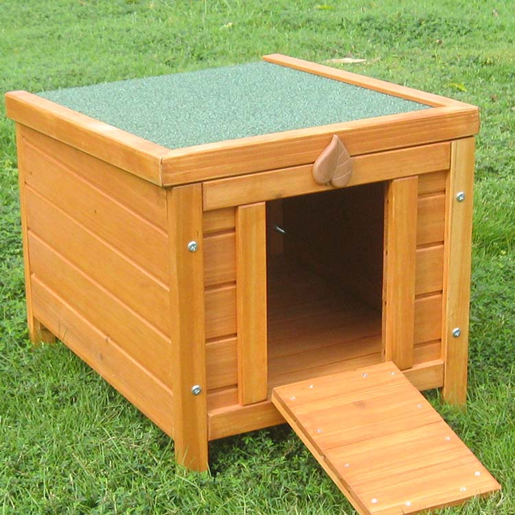 Cheap box shape rabbit hutch wooden rabbit cages bunny house