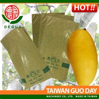 Fuji Jinhuang Mango with two layers waterproof and carbon inner fruit paper bag
