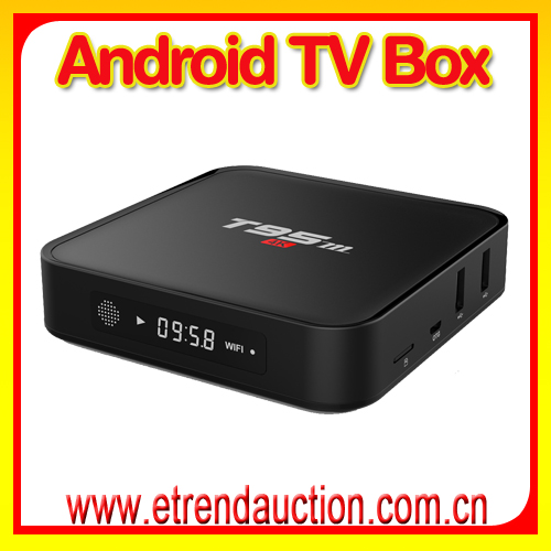 Metal Case T95 Android 5.1 TV Box android 4k with kodi iptv channels brasil