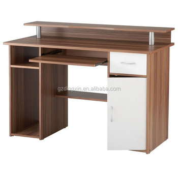 Computer Standing Desk With Cpu Cabinet Drawers Storage Buy