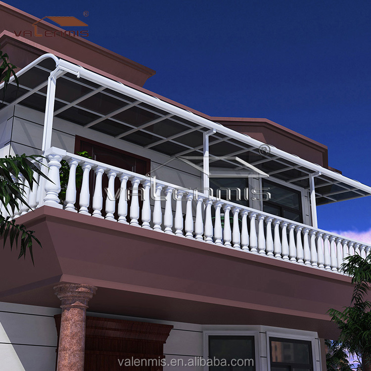 Polycarbonate awning Plastic awning window awning