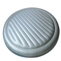 custom PVC inflatable massage round water bed