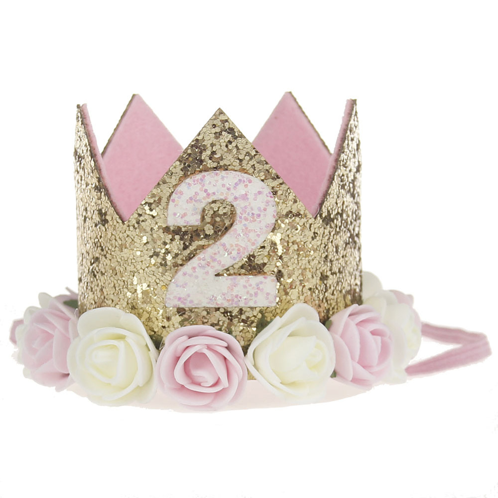 2018 New Designed Baby Girls Flower <strong>Crowns</strong> For Birthday Party